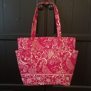 Vera Bradley Bird Patterned Tote